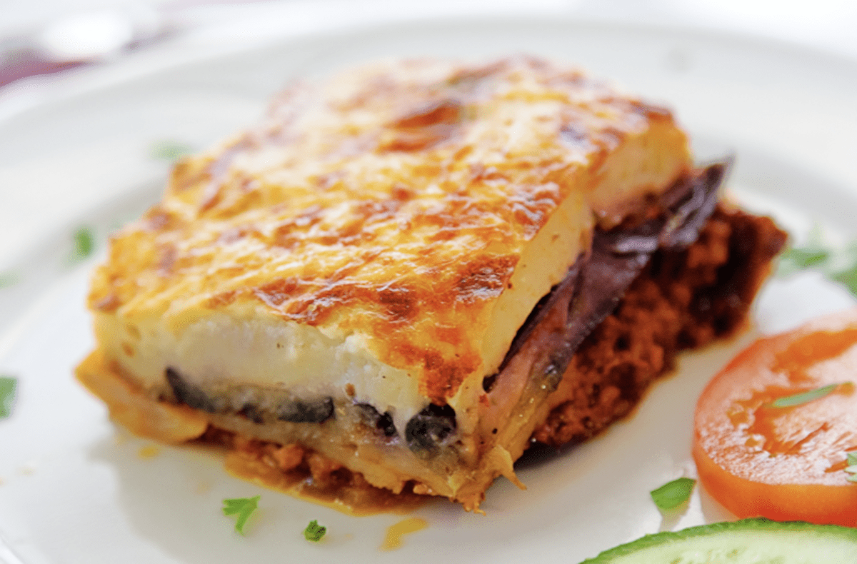 Greek Moussaka Is A Classic Favorite