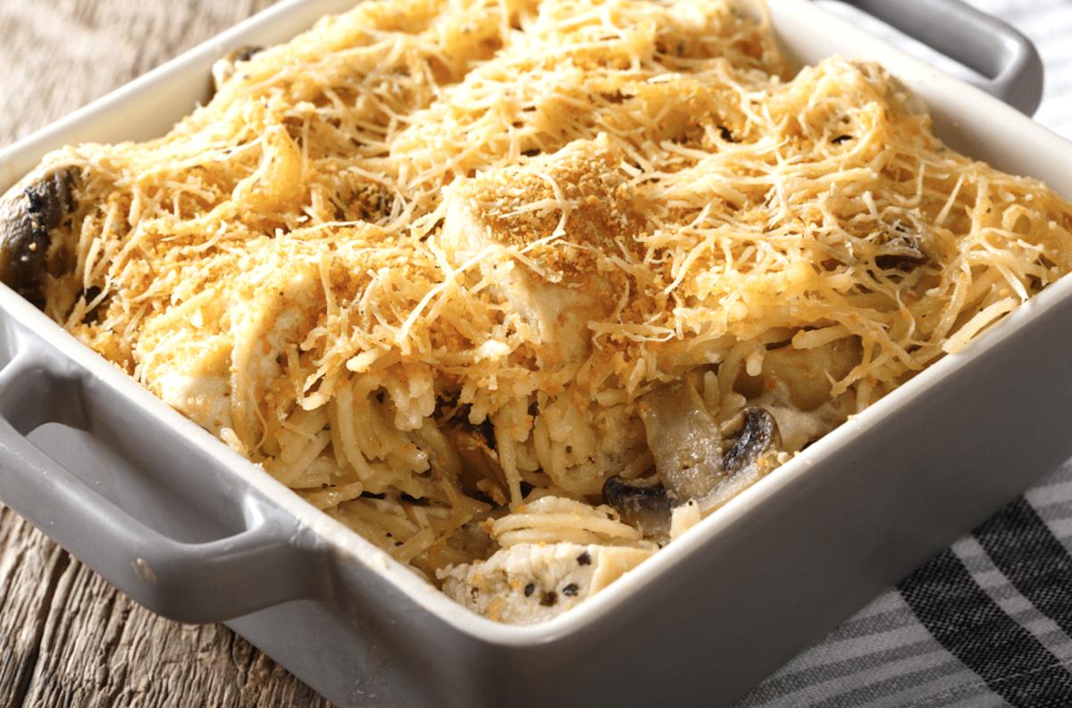 Use Spaghetti Or Any Pasta You Like
