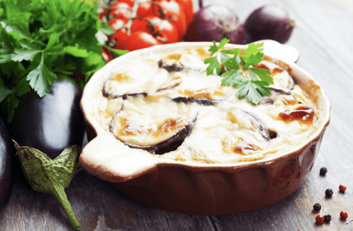 Use Small Eggplants for Individual Musaka Casseroles