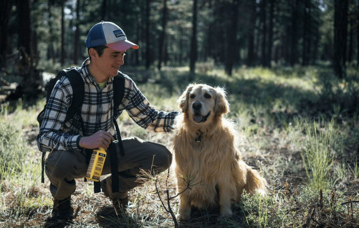 Sawyer Permethrin Is Safe For Dogs Too