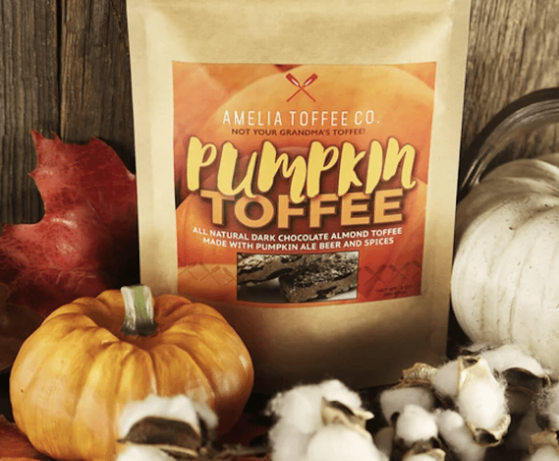 Amelia Toffee Co Pumpkin Coffee