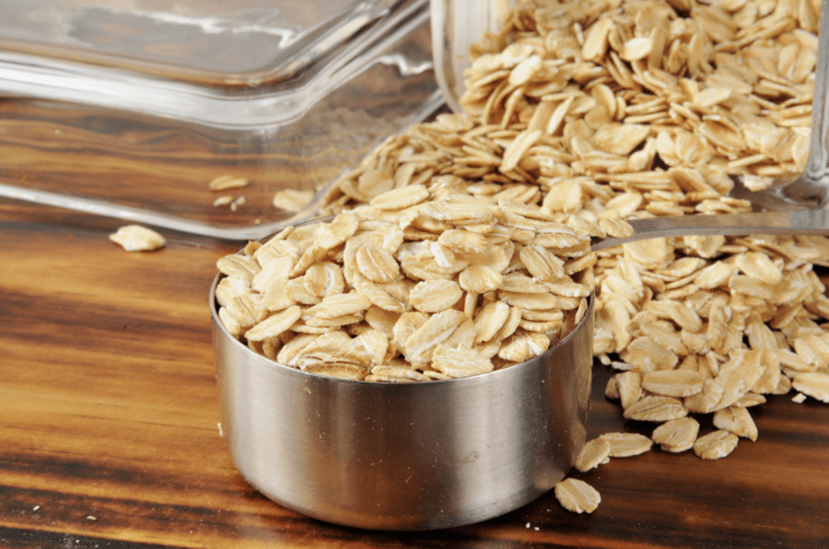 Rolled Oats For Apple Crisp Topping