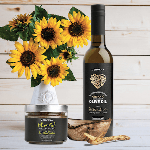 Vervana Olive Oil and Dipping Sauce