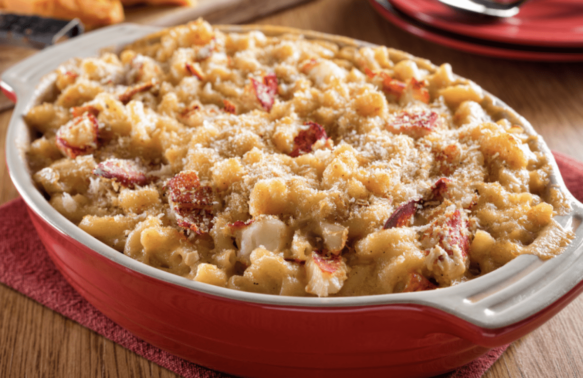 Dreamy Lobster Mac And Cheese