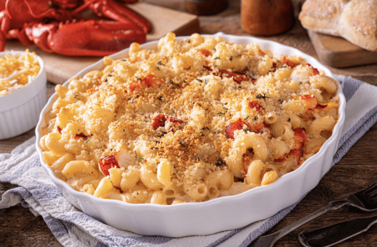 Mac And Cheese With Lobster