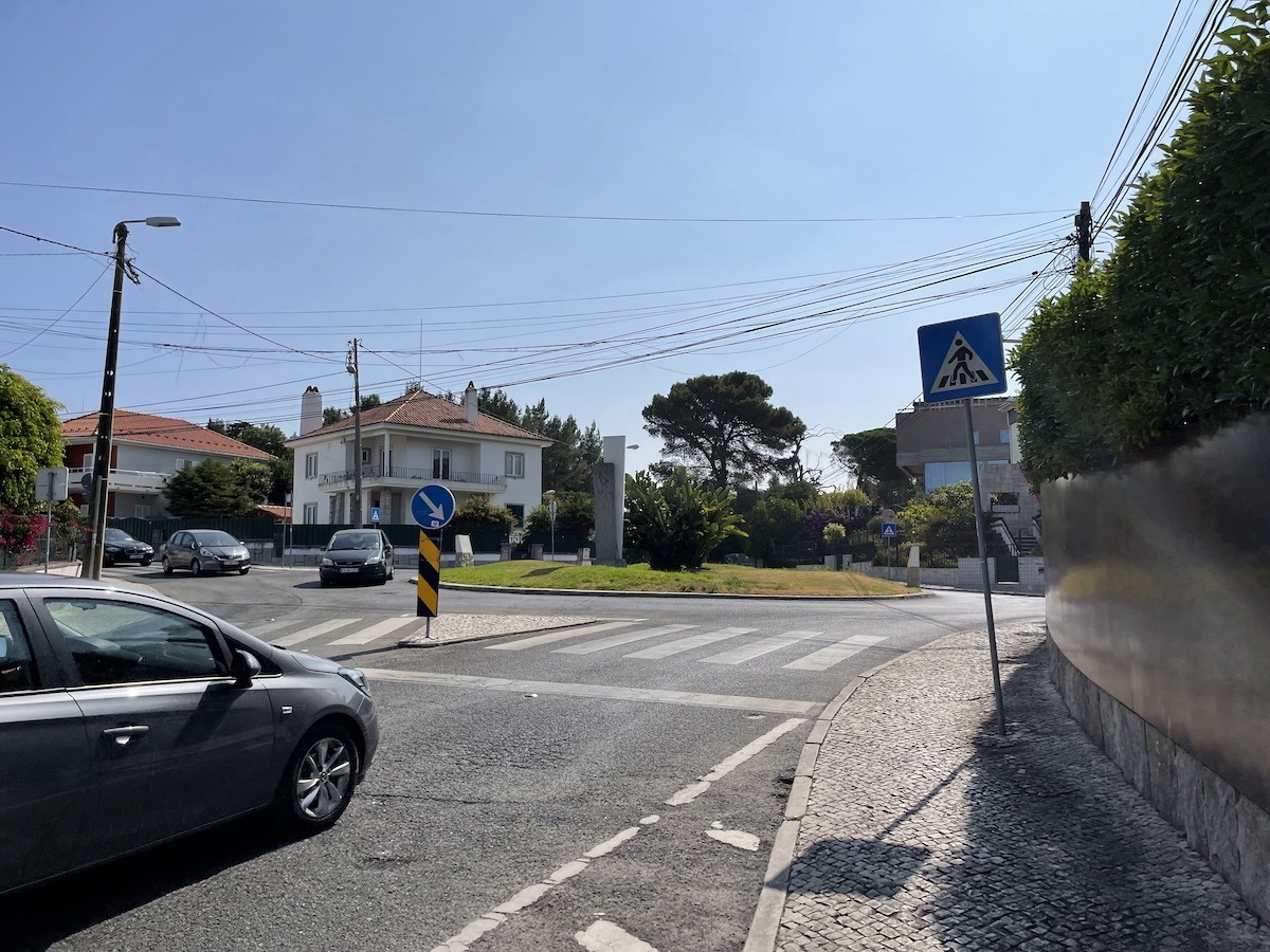 Roundabout in Cascais