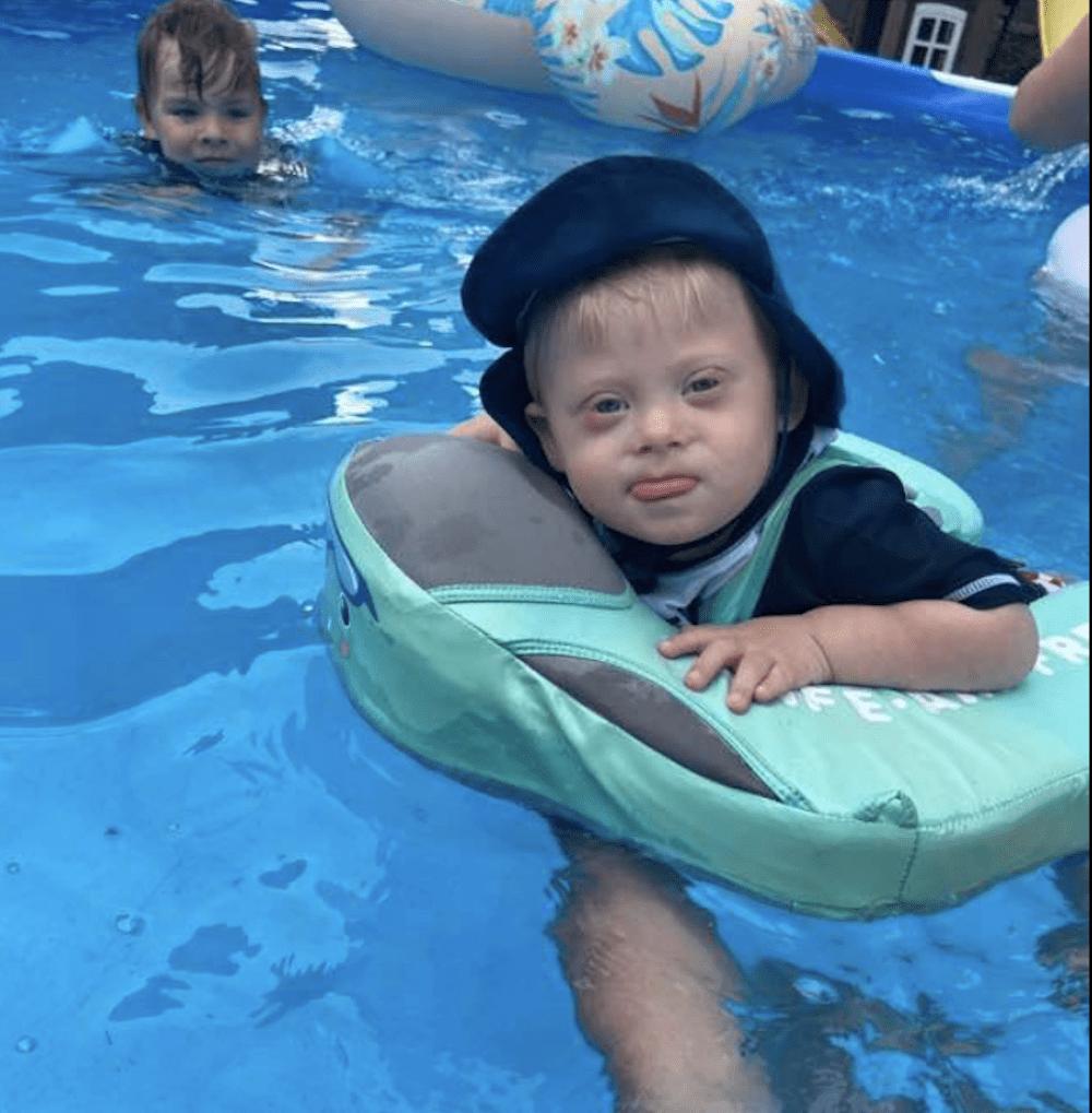 baby float swim trainer summer fun