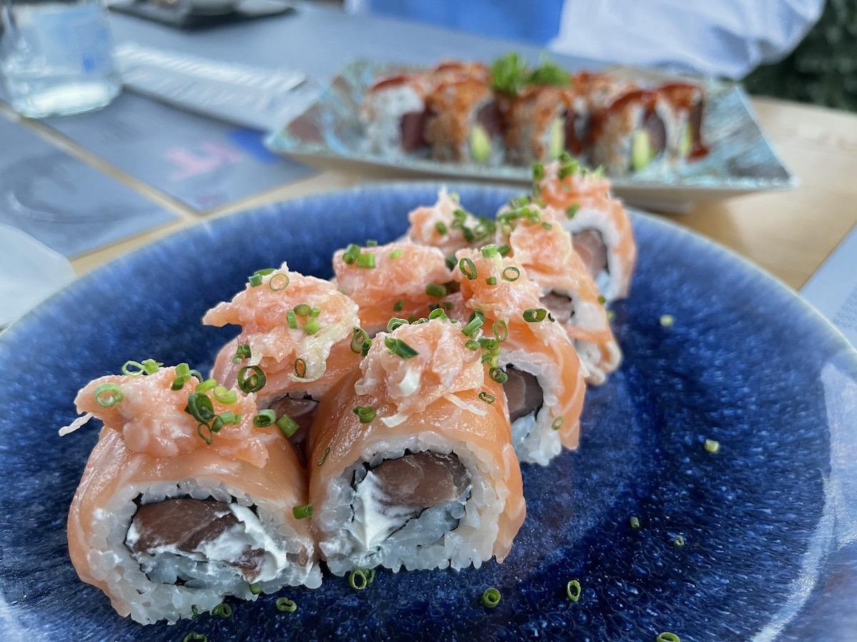 Sushi at Lovit Cascais